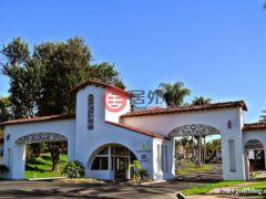 居外网在售美国卡尔斯巴德2卧2卫的房产总占地74平方米USD 594,000