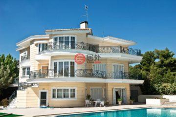 居外网在售希腊6卧4卫新房的房产总占地6500平方米EUR 2,950,000