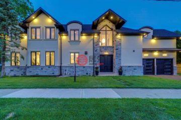 加拿大房产房价_安大略省房产房价_奥克维尔房产房价_居外网在售加拿大奥克维尔5卧5卫的房产总占地774平方米CAD 2,449,000