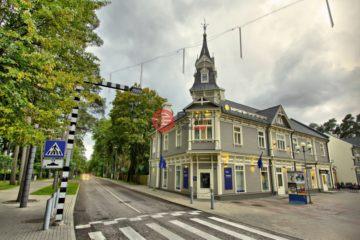 居外网在售拉脱维亚JūrmalaEUR 3,300,000总占地1416平方米的商业地产
