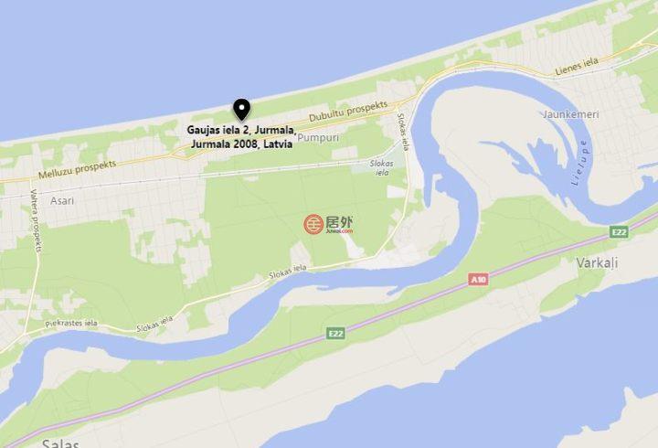 拉脱维亚尤尔马拉Jūrmala的商业地产,2 Gaujas,编号43155266