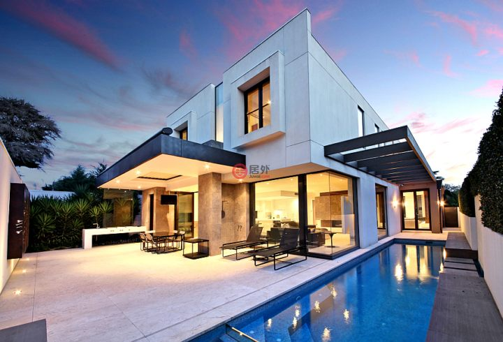 景色美的房子图片