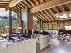 居外网在售瑞士采尔马特7卧7卫的房产总占地574平方米