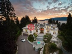 加拿大房产房价_不列颠哥伦比亚省房产房价_西温哥华房产房价_居外网在售加拿大西温哥华7卧9卫的房产总占地3600平方米CAD 22,800,000