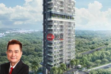 居外网在售新加坡2卧2卫新开发的房产总占地84平方米SGD 2,500,000