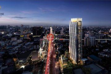 居外网在售泰国1卧1卫新房的房产总占地32平方米THB 3,490,000