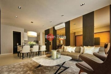 居外网在售马来西亚吉隆坡3卧3卫的房产总占地134平方米MYR 1,185,000