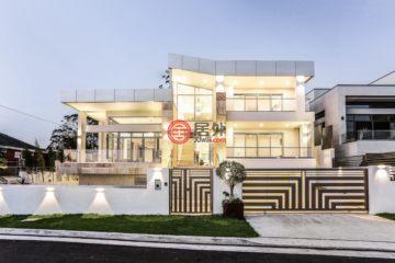 居外网在售澳大利亚6卧5卫新房的房产总占地650平方米