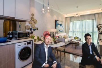 居外网在售马来西亚2卧1卫新开发的房产总占地67平方米MYR 1,000,000