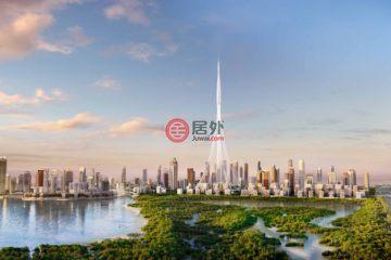 居外网在售阿联酋1卧2卫新开发的房产总占地65平方米AED 949,888