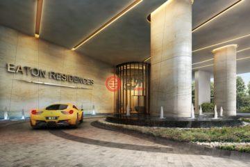 居外网在售马来西亚1卧1卫新开发的房产总占地5746平方米MYR 1,090,000
