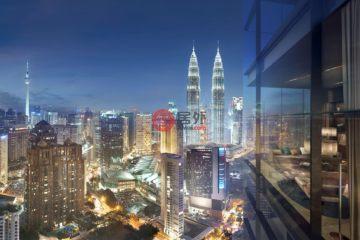 居外网在售马来西亚1卧1卫新开发的房产总占地59平方米MYR 1,090,000