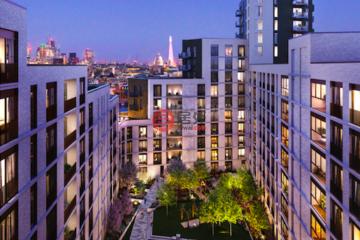 居外网在售英国伦敦1卧1卫的房产总占地50平方米GBP 670,000