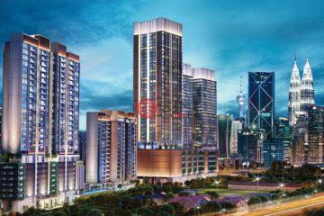 居外网在售马来西亚吉隆坡2卧2卫的房产总占地66平方米MYR 1,200,000