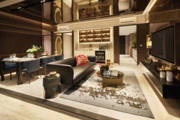 居外网在售新加坡3卧2卫新开发的公寓总占地19851平方米SGD 2,344,000