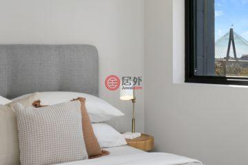 居外网在售澳大利亚悉尼1卧1卫的房产总占地65平方米AUD 780,000