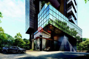 居外网在售新加坡2卧2卫新开发的房产总占地2048平方米SGD 2,497,000