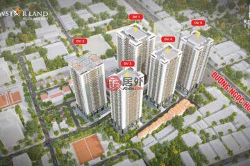 居外网在售越南Quận Hoàng Mai3卧2卫的房产总占地3716平方米USD 102,000