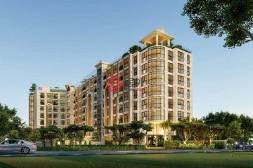 居外网在售泰国1卧1卫新开发的房产总占地25平方米THB 2,240,000