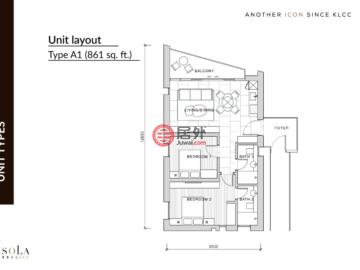 马来西亚Kuala Lumpur吉隆坡的新建房产,Lot 95, Seksyen 43, Jalan Yap Kwan Seng,编号58075571