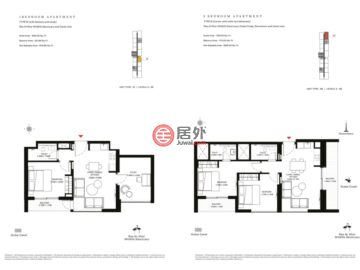 阿联酋迪拜迪拜的新建房产,Creek Vistas At Sobha Hartland,编号47733950