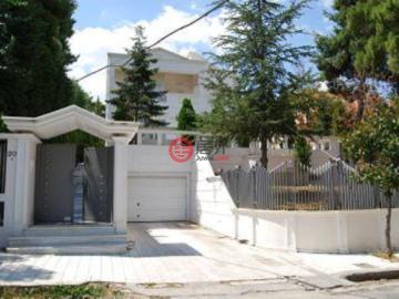 居外網在售希臘Ekali3臥4衛的房產總占地1200平方米