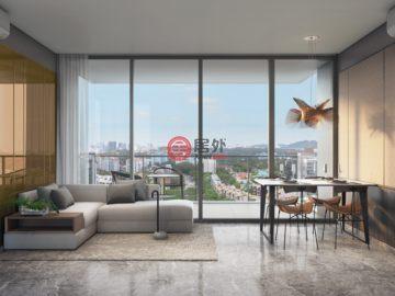 2卧2卫新开发的公寓