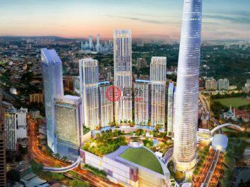居外网在售马来西亚2卧1卫新开发的新建房产总占地80平方米MYR 1,200,000起