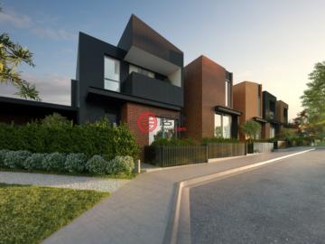 居外网在售澳大利亚3卧2卫特别设计建筑的新建房产总占地72平方米AUD 380,000起