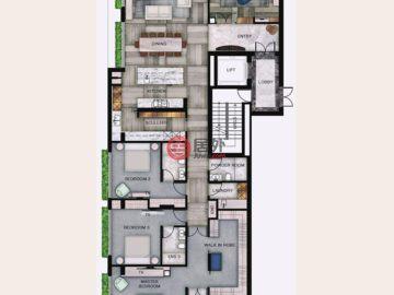 澳大利亚维多利亚州Toorak的房产,102/86 Mathoura Road,编号38517384