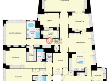 美国加州旧金山的房产,765 Market St Apt 34A,编号50756686