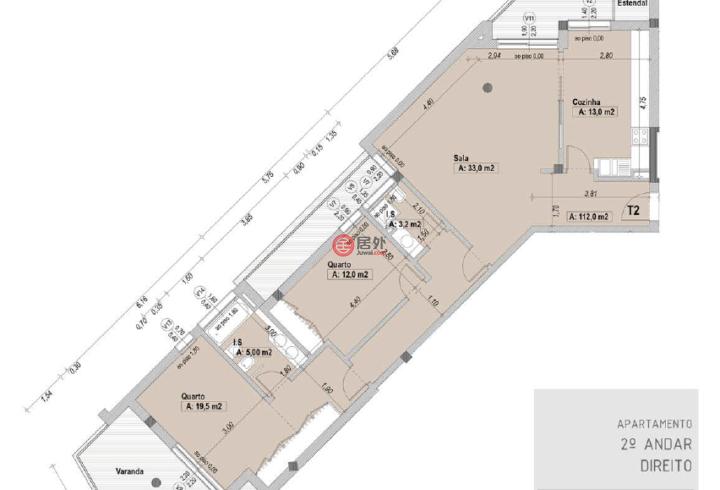 葡萄牙莱里亚莱里亚的房产,Aldeamento  Santa Clara,编号54411235