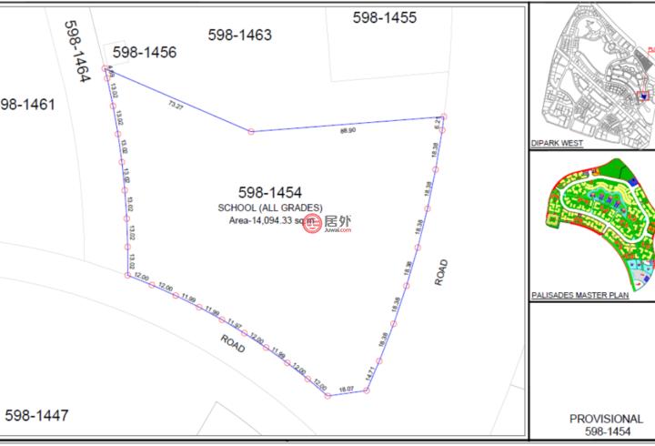 阿联酋迪拜Dubai Investments Park 2的土地,DIP,编号51734480