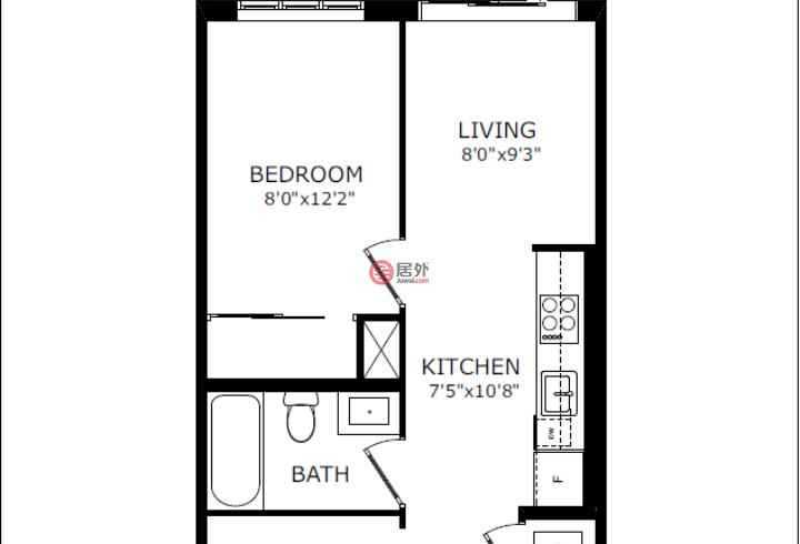 加拿大安大略省多伦多的房产,120 Parliament Street,编号54114846