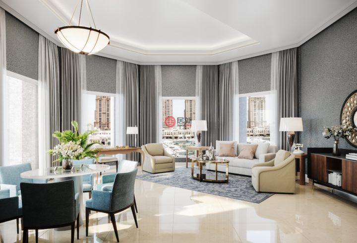 卡塔尔DohaThe Pearl Qatar的新建房产,The Residences, The St Regis Marsa,编号51303216