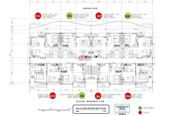 泰国甲米府甲米的房产,178 Moo 2,编号45456292
