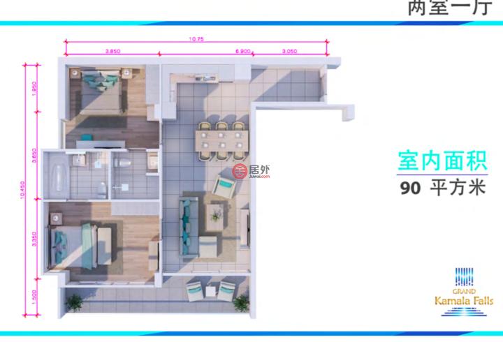 泰国普吉府Kamala的房产,Kamala,编号50308361