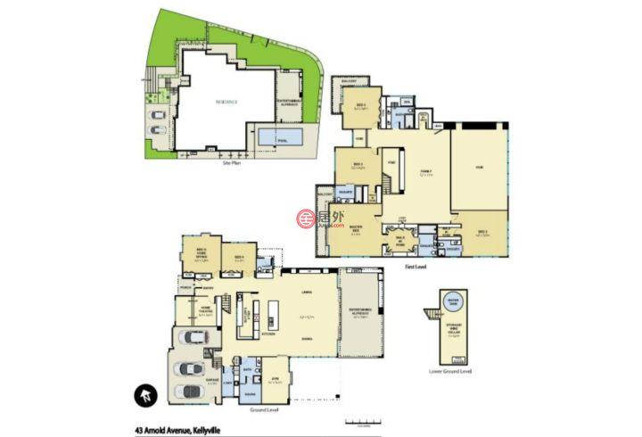 澳大利亚新南威尔士州Kellyville的房产,43 Arnold Ave.,编号50787334
