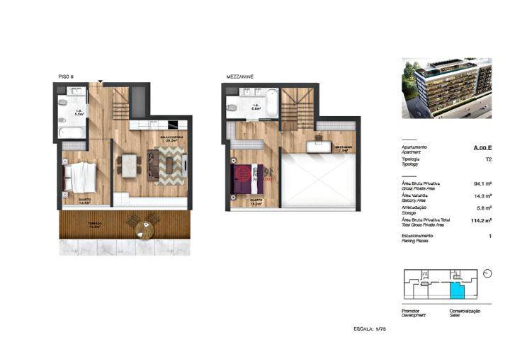 葡萄牙里斯本里斯本的房产,Av. Gomes Pereira 17,编号51189217