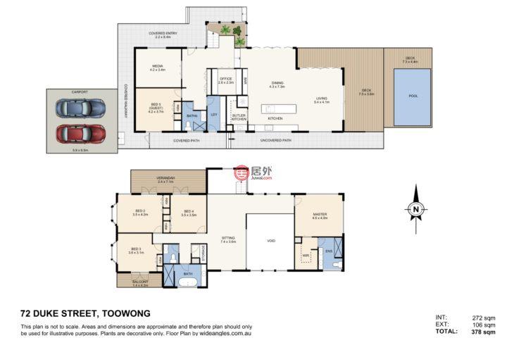澳大利亚昆士兰Toowong的房产,72 Duke St.,编号55960704