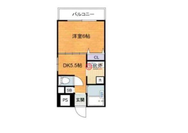 日本Hyōgo-kenNishinomiya-shi的房产,津門呉羽町2丁目10番,编号43945184