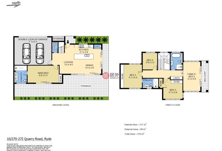 澳大利亚新南威尔士州Ryde的房产,10/270 Quarry Road,编号55566323