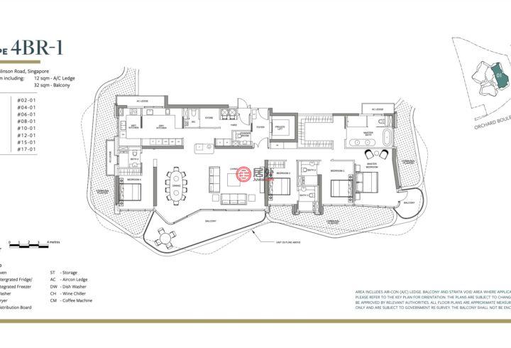 新加坡SingaporeSingapore的公寓,Park Nova, 18 Tomlinson Road,247858,编号58695037