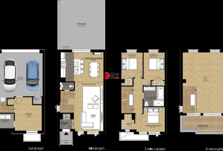 加拿大魁北克蒙特利尔的房产,Boul Shevchenko,编号47586439