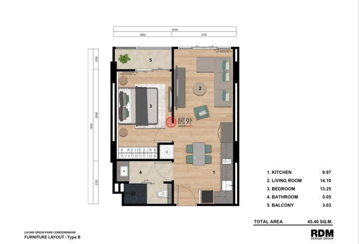 泰国普吉府塔朗的房产,Moo 6,编号57199170