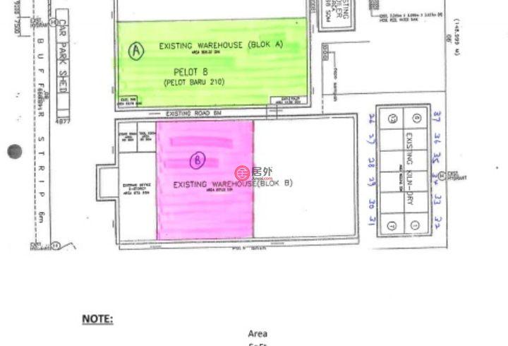 马来西亚吉打州Kuala Ketil的商业地产,Kuala Ketil Industrial Estate,编号54568944