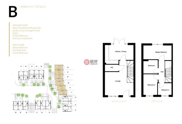英国英格兰曼彻斯特的房产,STOCKPORT ROAD,编号47729500
