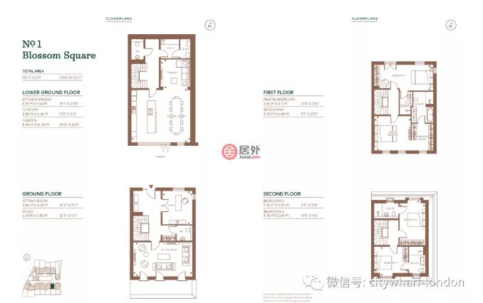 英国英格兰伦敦的房产,Blossom,编号54623879