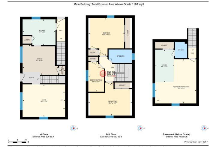加拿大安大略省多伦多的房产,438 SILVERTHORN AVE,编号43262438