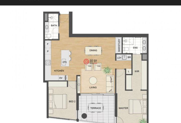 澳大利亚西澳大利亚州珀斯的房产,编号53537855